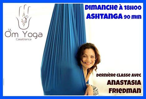 derni re classe d 39 anastasia friedman om yoga casablanca. Black Bedroom Furniture Sets. Home Design Ideas