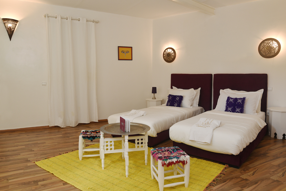 Om Yoga Casablanca Ajna Room