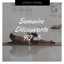 Semaine Découverte Illimitée – Studio Virtuel