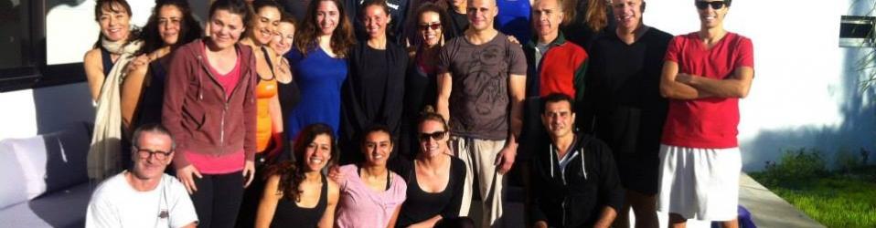 Magnifique WE avec l'atelier technique de Hot Yoga dirigé par Adil Rida !