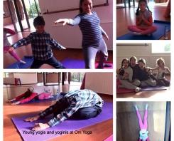 Yoga des enfants chez Om Yoga