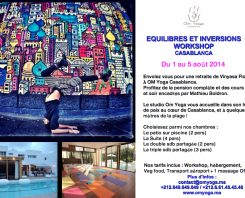 Let's meet for Vinyasa Flow and Detox retreat in Morocco!!!!