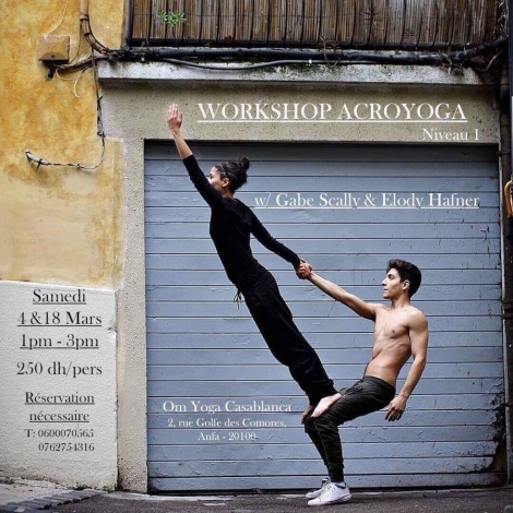Workshop ACROYOGA niveau 1