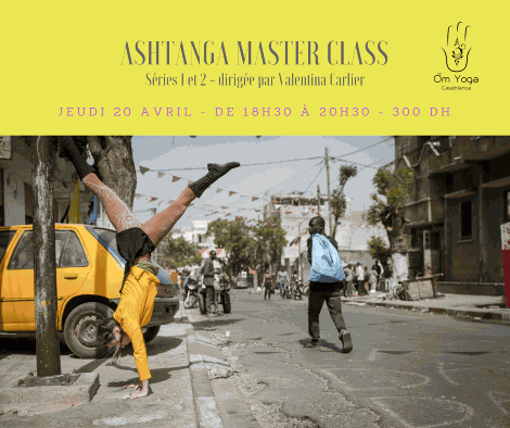ASHTANGA MASTER CLASS