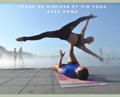 Stage Yin et Vinyasa