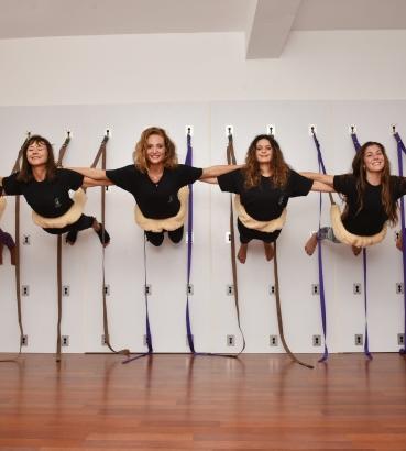 Wall Yoga - Om Yoga - | Om Yoga Marrakech & Casablanca